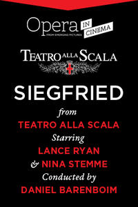 Siegfried - From La Scala Movie Poster