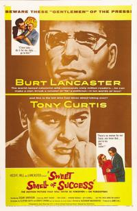The Sweet Smell of Success / Don't Make Waves Movie Poster