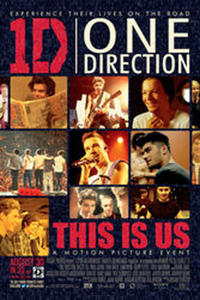 One Direction: This Is Us New Extended Fan Cut Movie Poster