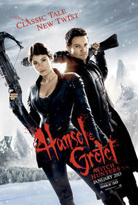 Hansel and Gretel: Witch Hunters IMAX 3D Movie Poster