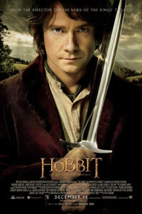 The Hobbit: An Unexpected Journey HFR IMAX 3D Movie Poster