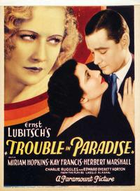 Trouble In Paradise / Cluny Brown Movie Poster
