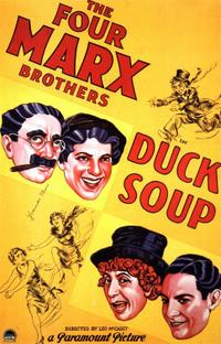 Duck Soup / Monkey Business Movie Poster