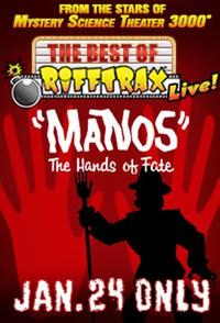 The Best of RiffTrax Live: Manos, the Hands of Fate Movie Poster