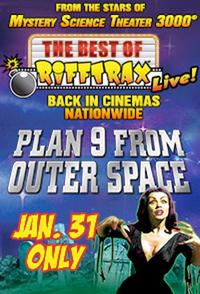 The Best of RiffTrax Live: Plan 9 From Outer Space Movie Poster