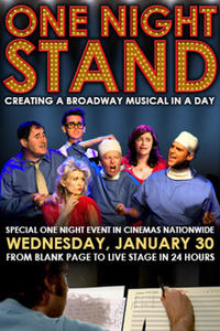 ONE NIGHT STAND: Overnight Musicals Movie Poster