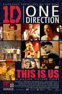 One Direction: This Is Us in 3D New Extended Fan Cut Movie Poster