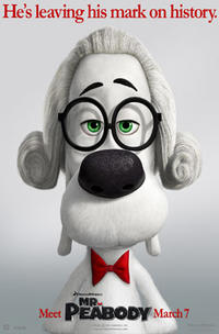Mr. Peabody & Sherman 3D Movie Poster