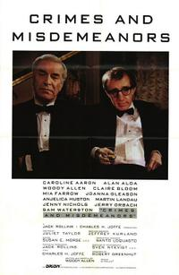Crimes and Misdemeanors / Ed Wood Movie Poster