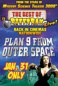 The Best of RiffTrax Live: Plan 9 From Outer Space!  Movie Poster