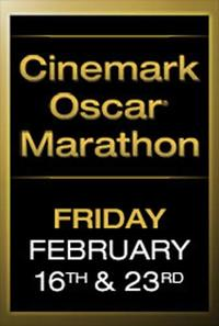 Cinemark Oscar Marathon Movie Poster