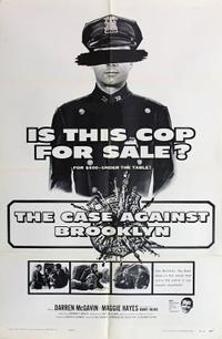 The Case Against Brooklyn / City Across The River Movie Poster