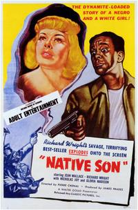 Native Son / No Way Out Movie Poster