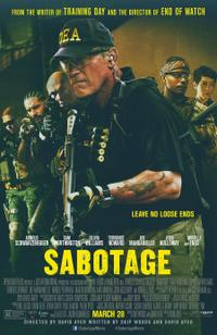 Sabotage (2014) Movie Poster