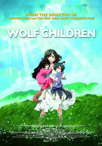 Wolf Children Movie Poster