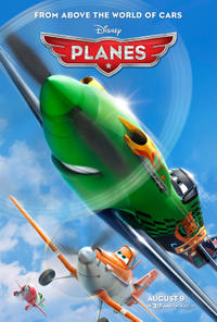 Planes in 3D Movie Poster
