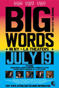 Big Words Movie Poster
