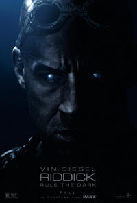 Riddick: The IMAX Experience Movie Poster