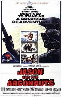 Jason and the Argonauts / Clash of the Titans Movie Poster