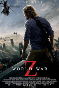 World War Z 3D Movie Poster