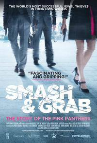 Smash & Grab: The Story of the Pink Panther Movie Poster