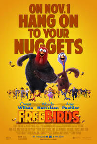 Free Birds in 3D Movie Poster