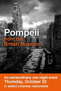 Pompeii from the British Museum Movie Poster