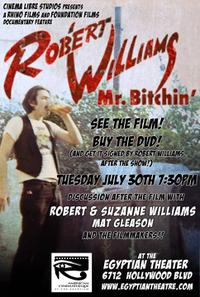 Robert Williams Mr. Bitchin' Movie Poster