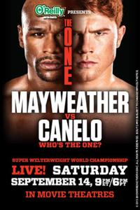 The One: Mayweather vs. Canelo Movie Poster