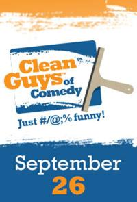Clean Guys of Comedy Encore Movie Poster