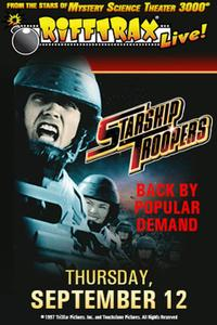 RiffTrax Live: Starship Troopers Encore Movie Poster