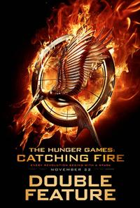 The Hunger Games: Catching Fire Double Feature Movie Poster