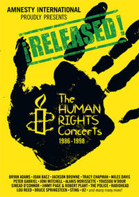 ¡RELEASED! The Human Rights Concerts / Light A Candle Movie Poster