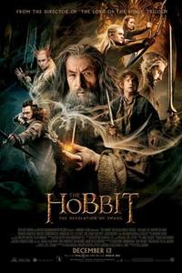 The Hobbit: The Desolation of Smaug Double Feature 3D Movie Poster
