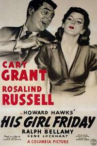 His Girl Friday / The Major and The Minor Movie Poster