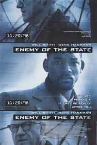 Enemy of the State / Black Hawk Down Movie Poster