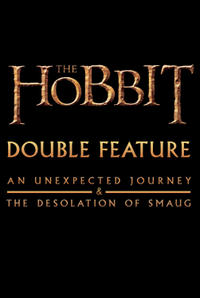 The Hobbit: The Desolation of Smaug Double Feature Movie Poster