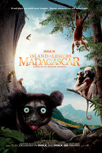 Island of Lemurs: Madagascar IMAX 3D Movie Poster