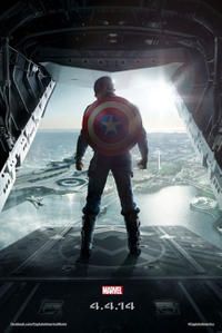 Marvel's Captain America: The Winter Soldier 3D Movie Poster