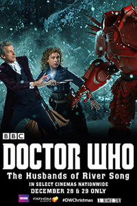 Doctor Who The Husbands of River Song Movie Poster