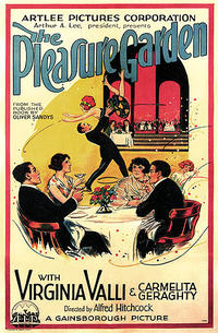 The Pleasure Garden / Stage Fright Movie Poster