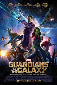 Guardians of the Galaxy 3D (2014) Movie Poster