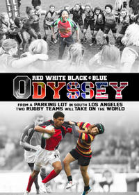 Red White Black & Blue Odyssey Movie Poster