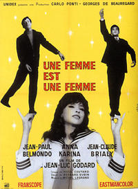 A Woman Is a Woman / Masculine Feminine Movie Poster