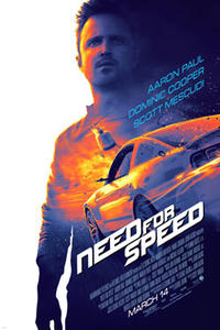 Need for Speed 3D Movie Poster