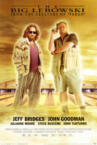 The Big Lebowski / Almost Famous Movie Poster