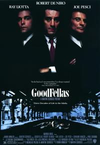 Goodfellas / My Blue Heaven Movie Poster