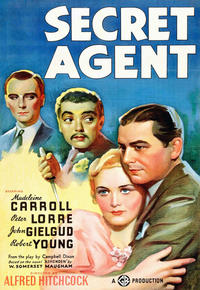 Secret Agent / Young & Innocent Movie Poster