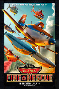 Planes: Fire & Rescue 3D Movie Poster