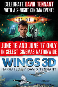 Doctor Who Cybermen + Wings 3D Movie Poster